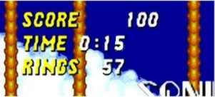 La Mega Drive et Sonic Sonic-temps